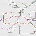 Streckennetz S-Bahn Berlin 2009