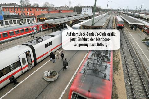 Bahn, komplett privatisiert