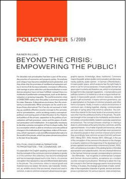 New Policy Paper!