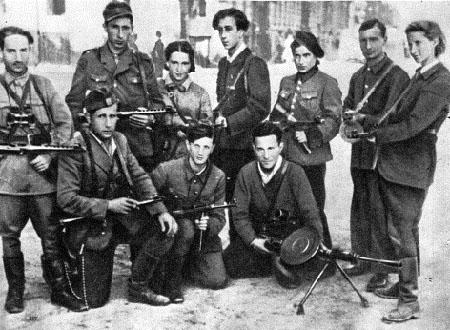 Widerstandskämpfer der Fareinikte Partisaner Organisatzije
