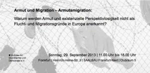 Armut und Migration