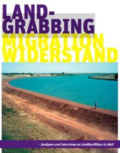 Broschüre von afrique europe interact zu Widerstand gegen Landgrabbing in Mali